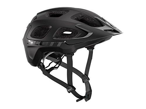 Scott Vivo MTB Fahrrad Helm schwarz matt 2019: Größe: M (55-59cm)