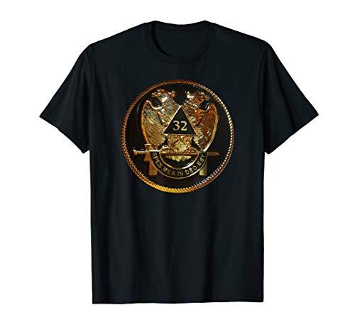 Freimaurer Freimaurer Schottischer Ritus 32. Grad T-Shirt