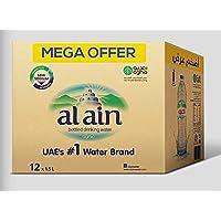 ALAIN Bottled Drinking Water Mega Offer Pack, 1.5 Litre (Pack of 12)