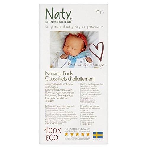 Naty Bio Coussinets d'allaitement 30 par lot