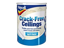 Polycell Cfcsm5l 5l Crack-free Ceilings Smooth Matt