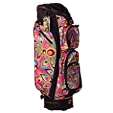 LOUDMOUTH Shagadelic 2.0 Golf Cart Bag Functional & Stylish Pink