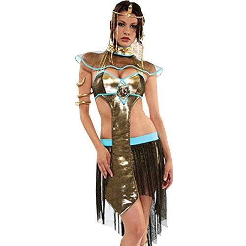 Kostüme Soldat Ägyptischer (Nihiug Kelly Sexy Nach Dem Krieg Die Soldaten Die Götter Halloween Ägypten Schlange König Kleidung Erwachsene Rom Super Teufel Versuchung Spiel)