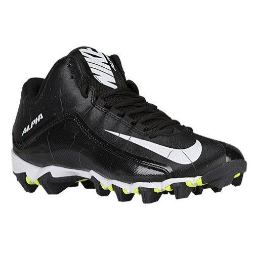 Nike Alpha Shark 2 3/4 American Football Schuhe - Schwarz Gr. 11.5 US