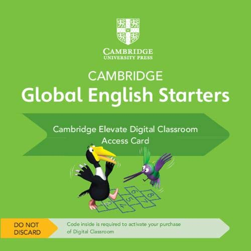 Cambridge Global English Starters Cambridge Elevate Digital Classroom (1 Year) Access Card