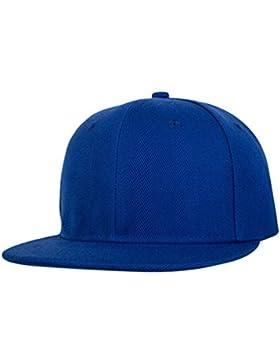 LINNUO Gorras de Béisbol Snapback Cap Clásico Baseball Hats Sombrero Plano Accesorios Hip Hop Hats Unisex