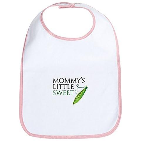 CafePress - Mommy's Little Sweet Pea Bib - Cute Cloth Baby Bib, Toddler Bib