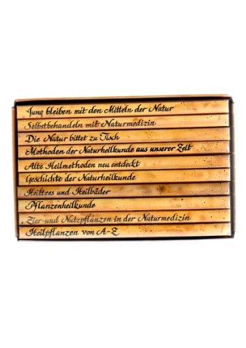 Gesundheit aus der Natur-Apotheke 10 Bände ( Heilpflanzen v. A - Z; Zier- u Nutzpflanzen i. d. Naturmedizin ; Pflanzenheilkunde ; Heiltees u. Heilbäder ; Gesch. d. Naturheilkunde ; Alte Heilmethoden neu entdeckt ; Methoden d. Naturheilk. aus unserer Zeit ; Selbstbehandeln m. Naturmedizin; Die Natur bittet zu Tisch; Jung bleiben mit d. Mitteln d. Natur.)