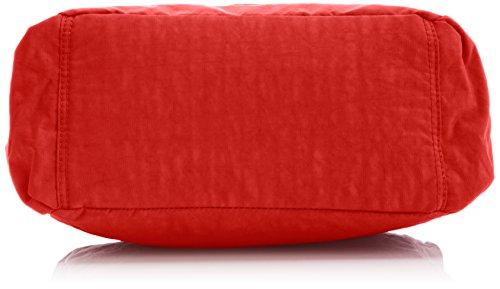 Kipling Alenya, Sac Bandoulière Mode Femme, Taille Unique Rouge (Tango Red)