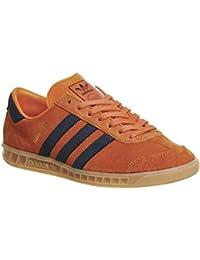check out a72b1 1a9f6 adidas Originals Hamburg Schuhe Herren Sneaker Turnschuhe Orange S74837