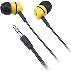 Genius GHP-200A Noise Isolation Earphones (Yellow)