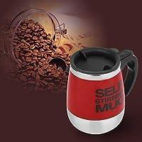 RoadRomao 450 ML de Acero Inoxidable Auto removedor Taza de Mezcla de Bebidas té Taza de café en casa