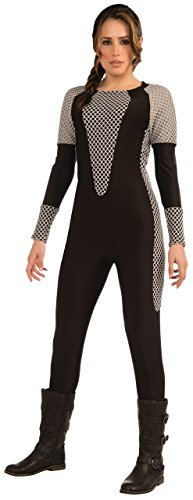 Ladies The Games Jumpsuit Book Day Week Halloween Fancy Dress Costume Outfit (One Size (UK 10-14)) (Hunger Games Halloween-outfits)