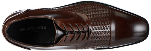 Kenneth Cole Ticket Balance, Oxfords Homme Marron (Brown 200)