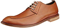 Ruosh Mens Tan Leather Boots - 11 UK/India (45 EU)(12 US)(1100300903)