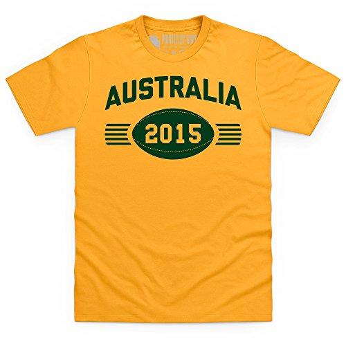 Australia Supporter T-Shirt, Herren Gelb