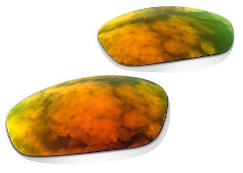sunglasses restorer Ersatzgläser für Oakley Juliet (Polarisierte Fire Iridium Linsen)