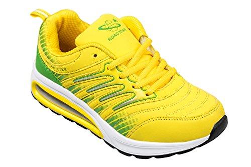 GIBRA Herren Sportschuhe, sehr leicht und bequem, gelb/grün, Gr. 41-46 Gelb/Grün