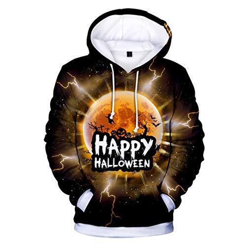 Harajuku 3D Halloween Hoodie Frauen Mit Kapuze Sweatshirts Pullover Tops Kapuzen Hoody Femme Weihnachten Kleidung Color 2 4XL