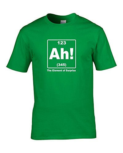 Ice-Tees Element Of Surprise- Funny Silly Chemistry Youth Boy's T-Shirt