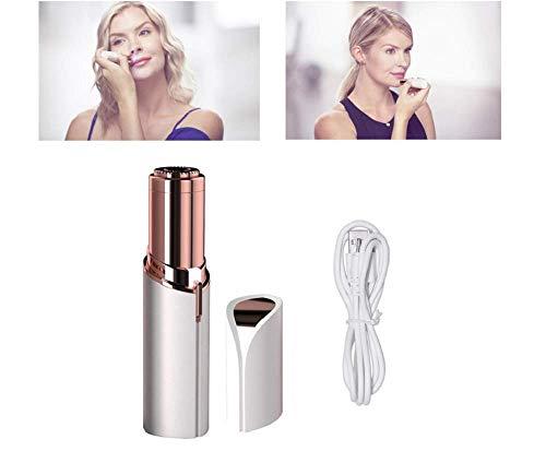 Makellose Frauen Schmerzlose Gesichtshaar Entferner, USB-Wiederaufladbarer Epilator, Schmerzfrei Sicherer Epilator, Wasserdichte Lippenstift-Form, Damen-Gesichts Epilator, Rasierer