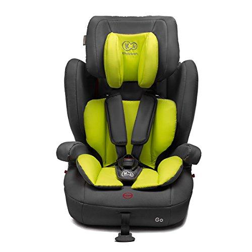 Kinderkraft GO Kinderautositz Kindersitz Autokindersitz 9 bis 36 kg Gruppe 1 2 3 Grün