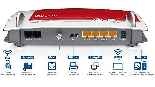 AVM-FRITZBox-6430-Cable-WLAN-N-DOCSIS-30-Kabelmodem-fr-Kabelanschluss-bis-450Mbits-24-GHz-VoIP-Telefonanlage-DECT-Basis