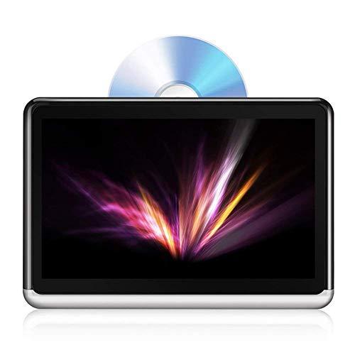 DANG&SHOP Tablet Android 6.0 I Tragbarer DVD-Player 10.1 Zoll I IPS Touchscreen Autokopfstütze Multimedia Monitor I Bluetooth 4.0 I eingebauter 4000mAh Akku unterstützt HDMI, FM, WiFi
