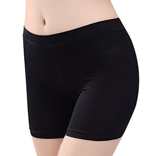 IBLUELOVER Panty Coton Modal Legging Courts sous-Vêtements...