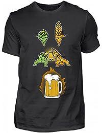 Hochwertiges Herren Shirt - Hopfen und Malz Fusion Zum Bier