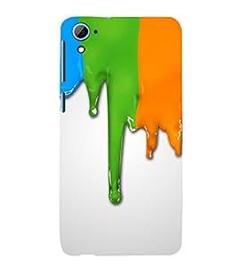 ARTISTIC LIQUID PAINT FLOWING PATTERN 3D Hard Polycarbonate Designer Back Case Cover for HTC Desire 826 :: HTC Desire 826 Dual Sim :: HTC Desire 826 DS (GSM + CDMA)