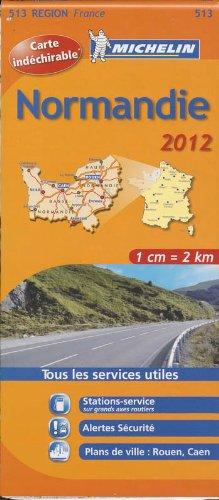 Carte REGION Normandie 2012