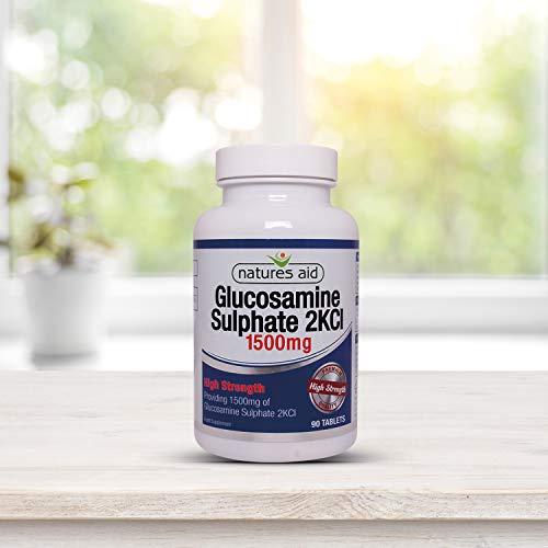 Aids-nahrungsergänzungsmittel (Natures Aid Nahrungsergänzungsmittel Glucosaminsulfat 1500mg)