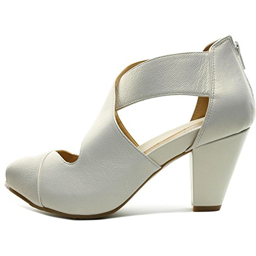 Easy Spirit Renske Large Cuir Sandales white