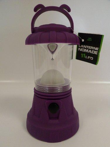 Lanterne nomade 11 led - violet
