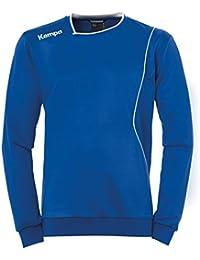Kempa Curve Jersey de Entrenamiento, Hombre, Azul Royal / Blanco, 140