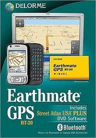 Earthmate GPS BT-20 2010: With Street Atlas USA 2010 Plus