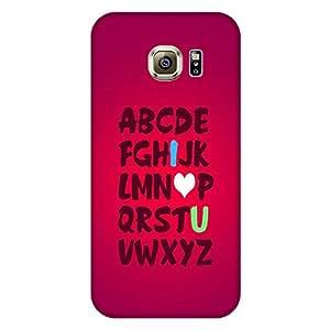 Mobo Monkey Designer Printed Back Case Cover for Samsung Galaxy S7 Edge :: Samsung Galaxy S7 Edge Duos :: Samsung Galaxy S7 Edge G935F G935 G935Fd (I Love You :: I Love U :: Gift :: Lover :: Couple)