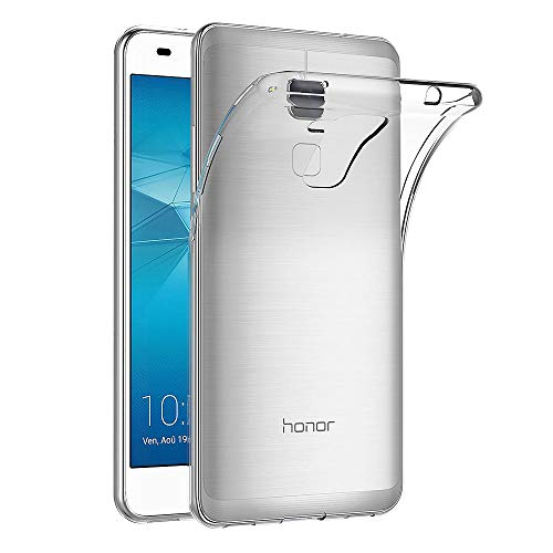 AICEK Huawei Honor 5C Hülle Case, Ultra-Clear Honor 5C Case Silikon Soft TPU Crystal Clear Premium Durchsichtig Handyhülle Schutzhülle Case Backcover Bumper Slimcase für Honor 5C