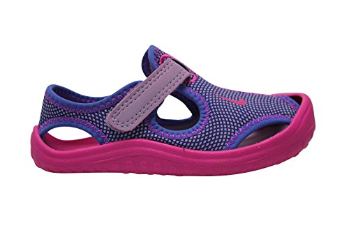 Tong, couleur Violet , marque NIKE, modèle Tong NIKE SUNRAY PROTECT Violet