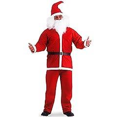 Idea Regalo - Costume Babbo Natale economico abito vestito L/XL