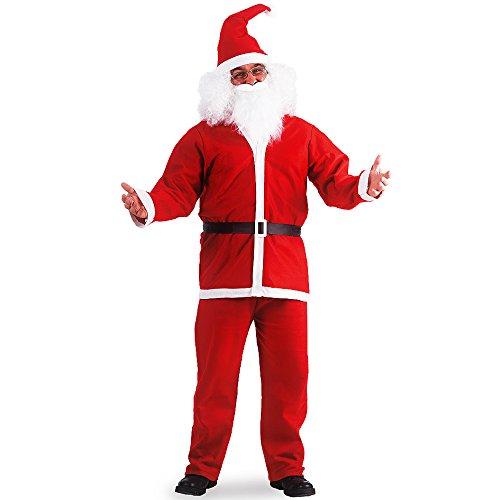 Costume Babbo Natale economico abito vestito L/XL