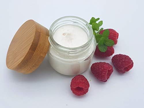 Zuckerpeeling Himbeer Minze, allergenfrei, plastikfrei, vegan, ohne Palmöl, handgemachtes Peeling von kleine Auszeit Manufaktur - Minze-peeling