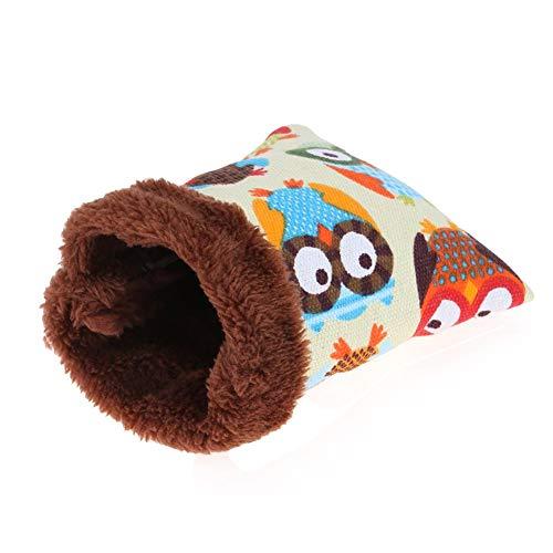 Gowind6 - Saco de Dormir de Felpa Suave y cálido para Invierno, para Cama de hámster, Rata, ratón, caseta de Nido