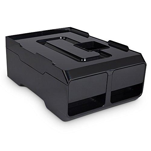 Café Bonitas XL Kaffeesatzbox schwarz, Restbehälter, Restwassertank, Cookietank passend für...