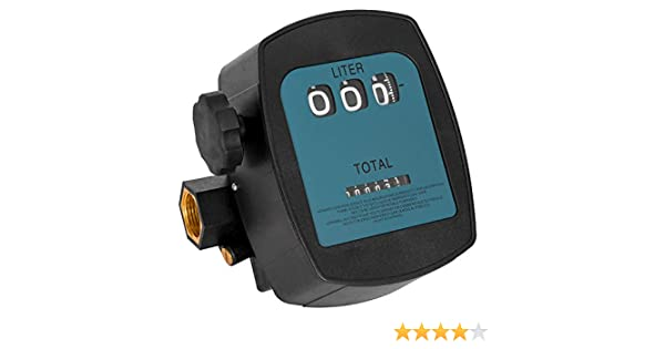 """L-M79952B Ölzähler Ölmesser Ölverbrauch Ölverbrauch Durchflussmesser 1/"""""""