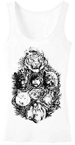 The Jungle Book Mowgli And Others Women's Tank Top Shirt Large