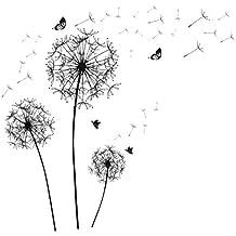 wandbild pusteblume schwarz weiss - Suchergebnis auf Amazon.de für
