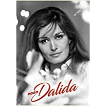 Wall Calendar 2020 [12 pages 20x30cm] Dalida French Chanson Music Vintage Magazine Cover Photo Poster