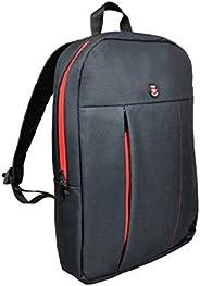 Port Designs 105330 15.6 Inch Portland Urban Slim Padded Laptop Backpack - Black &